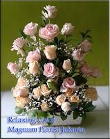 Bunga Mawar Peach Salem Jakarta