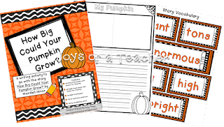 How Big Could Your Pumpkin Grow? Writing Activity