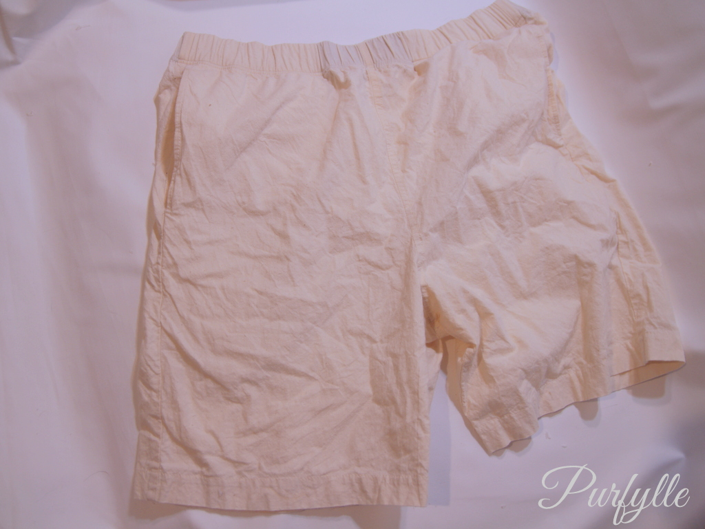 right side out shorts