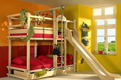 Dekorasi Katil dan Bilik Tidur Anak - Kanak-Kanak