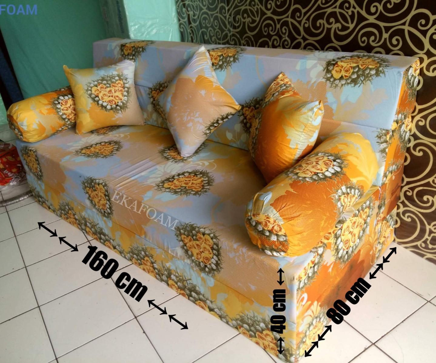 harga sofa bed inoac no 1 large throws for sofas kasur dan lipat terbaru