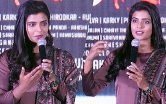 Aishwarya Rajesh Speech | Lakshmi Movie Press Meet | Prabhu Deva | A.L Vijay