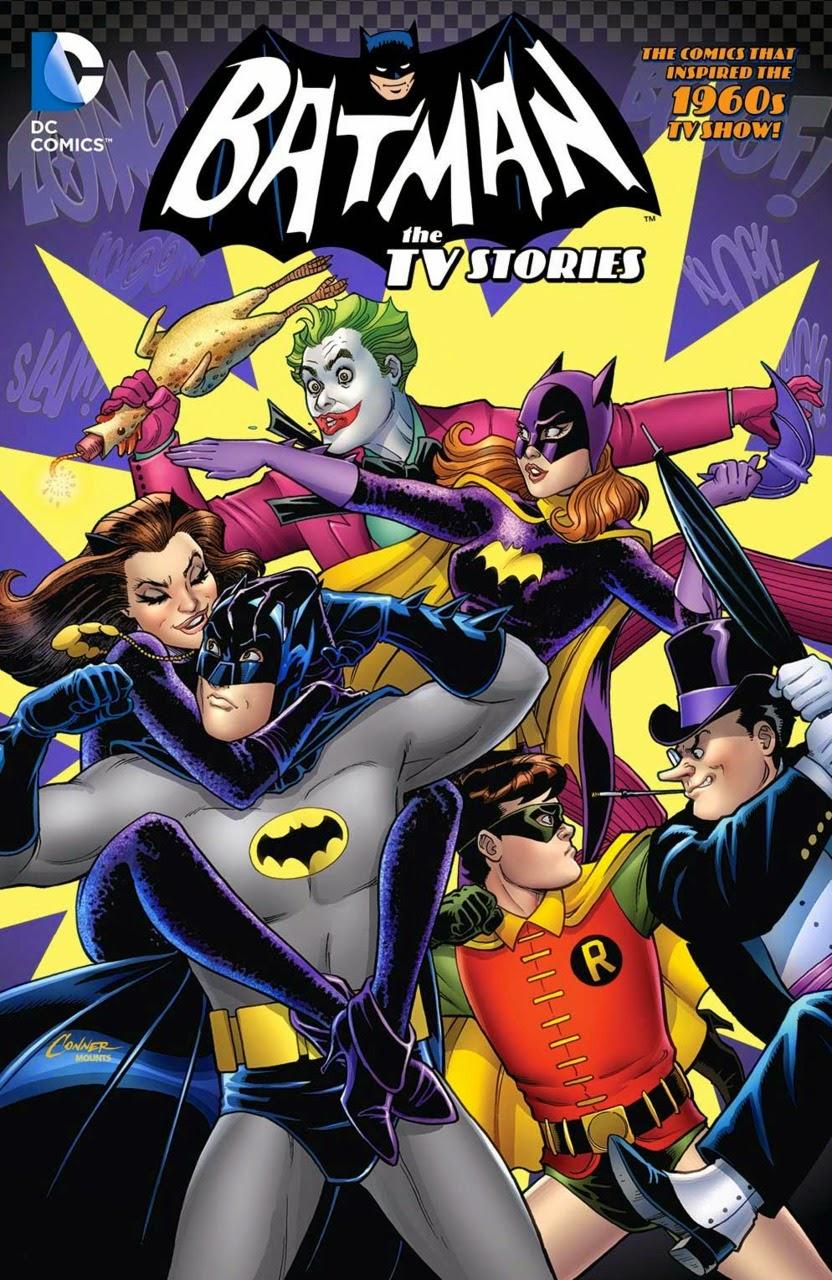 En todo el colodrillo: Batman: The TV Stories, de varios autores