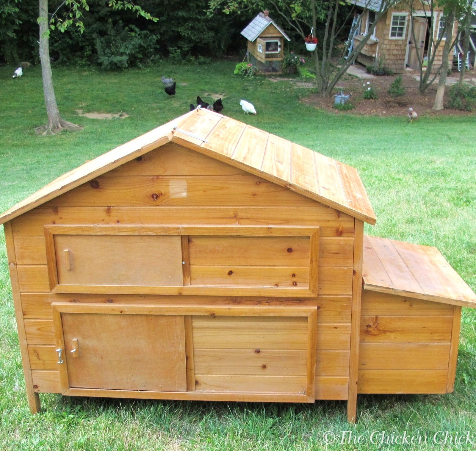 Upcycled Chicken Coop & Clever Chicks Blog Hop #3