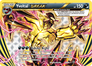 Yveltal BREAK Steam Siege Pokemon Card