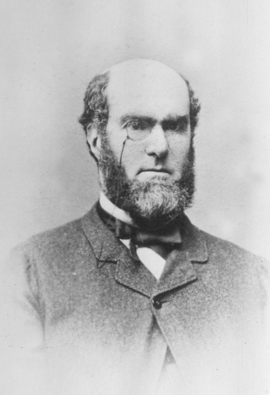 Photograph of Robert William Gaussen 1812 - 1880 From The Images Of North Mymms Collection