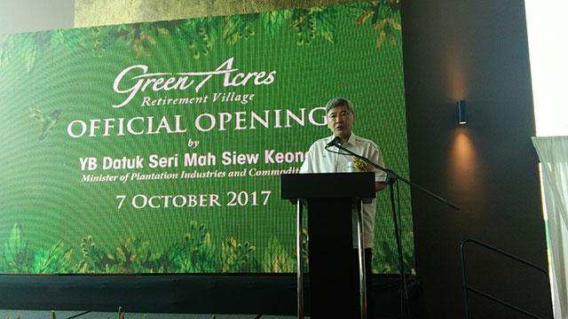 Kampung Persaraan Warga Emas, Persepsi diubah oleh GreenAcres 2