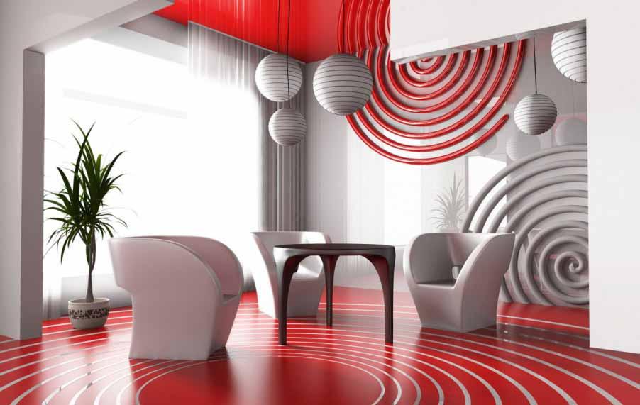 Pengaruh warna Interior Ruangan untuk Suasana Hati