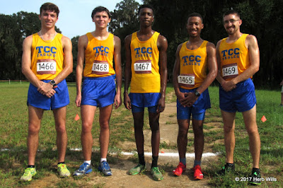 TCC Eagles cross-country men