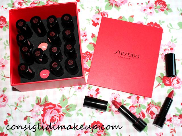recensione nuovi rossetti rouge rouge shiseido
