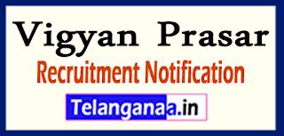 Vigyan Prasar Recruitment Notification 2017