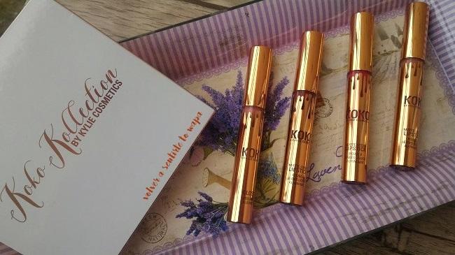Set de labiales mate de Kylie Cosmetics de su colección Koko Collection