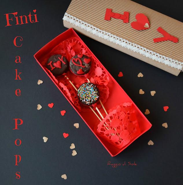 San Valentino, idea regalo: Finti Cake Pops