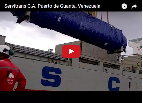Llegaron al Puerto de Guanta 2,20 gramos de comida para cada persona