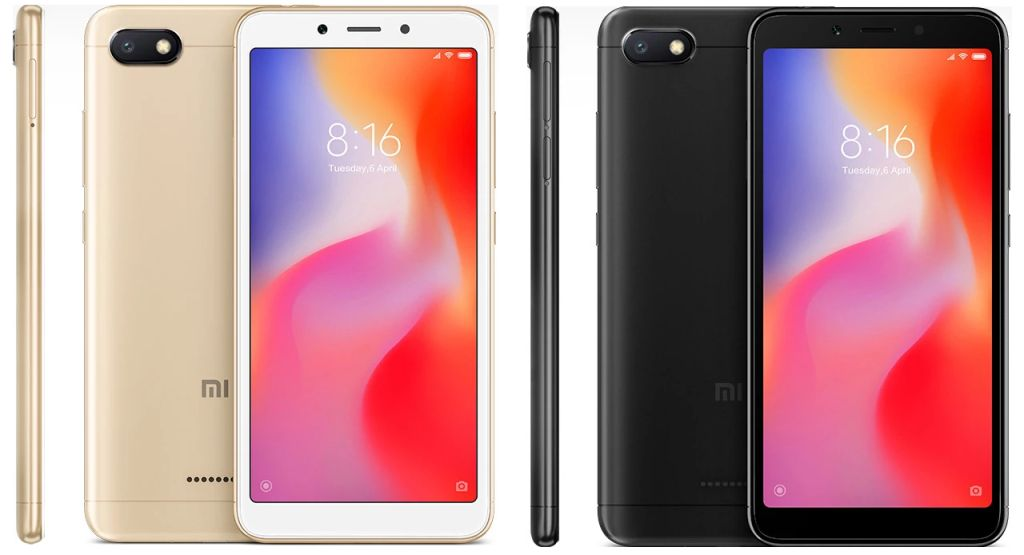 Xiaomi Redmi 6A (2018) with Specifications and Prices