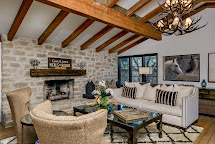 Ciao Newport Beach Living Room - Monterey Colonial Style