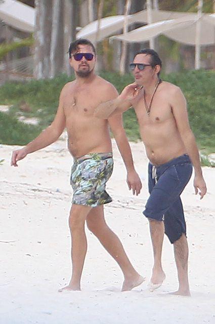 Leonardo DiCaprio in Cancun