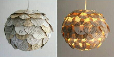 If you plan to do some extra home decoration, try lighting interior design. In this idea you can use recycled materials like some old item you are not used anymore, also some recycled cans, news papers, small jars, unused spoon, plastic cups, plastic bottle. From those materials, you can create your own beautiful light ideas. Here are some inspirational and creative DIY lighting ideas to light your home that you will be interested.