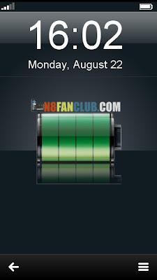 Pretty Battery Widget V10