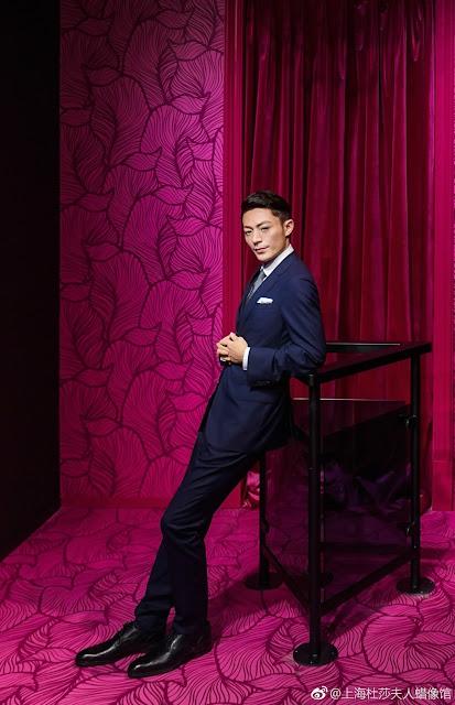 Wallace Huo celebrity wax figure