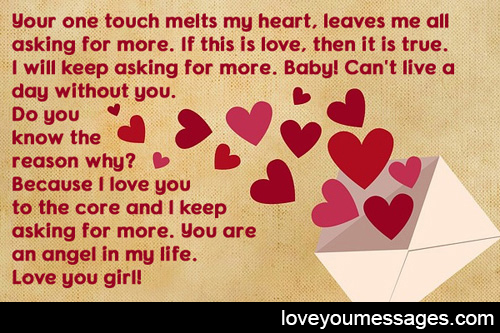 short love letters for her that make her cry - Love You Messages - love letters for her