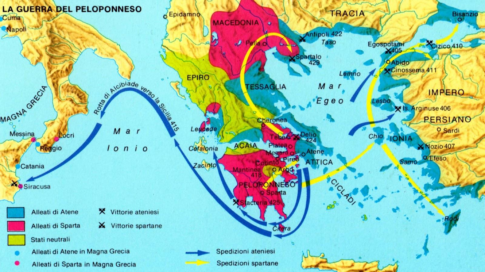 Cartina grecia antica atene for Cartina della grecia antica da stampare