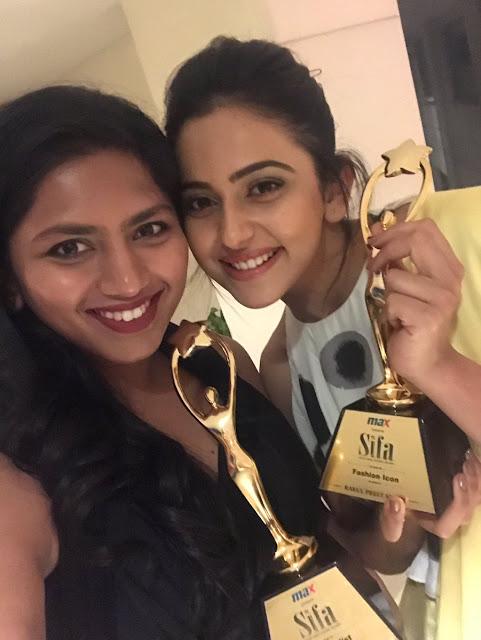 Rakul Preet Singh Latest Stills at SIFA Awards