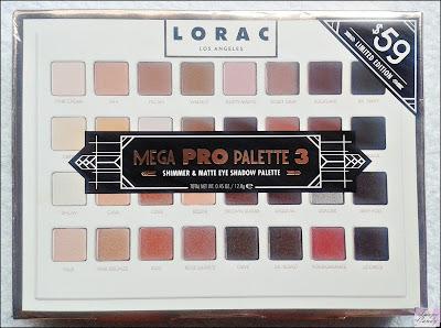 Lorac mega pro 3 palette