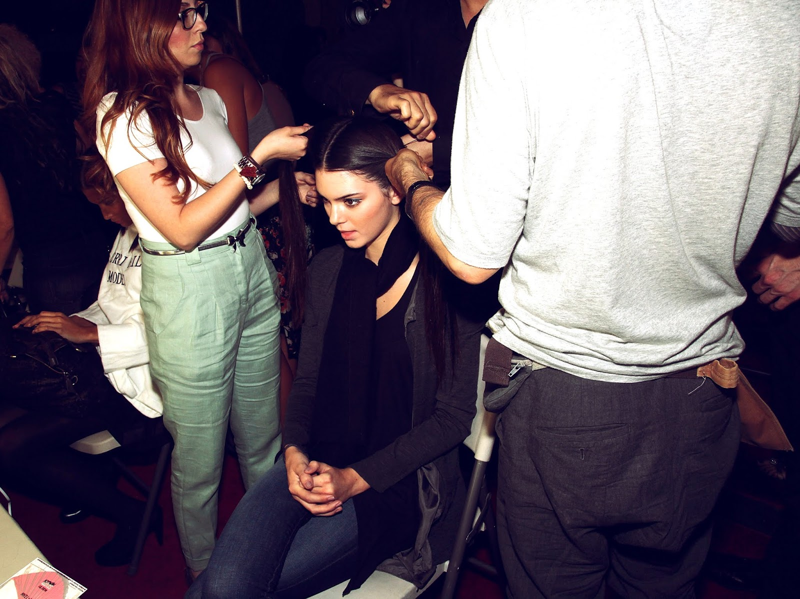05 - Evening By Sherri Hill Spring 2012 Collection Backstage in  September 14, 2011