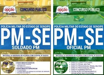 Apostila Concurso PM-SE 2018 Soldado e Oficial