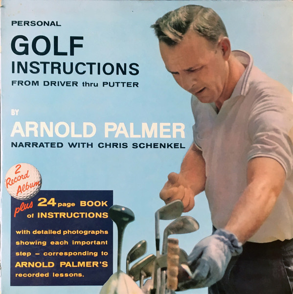 Arnold Palmer golf instruction record album
