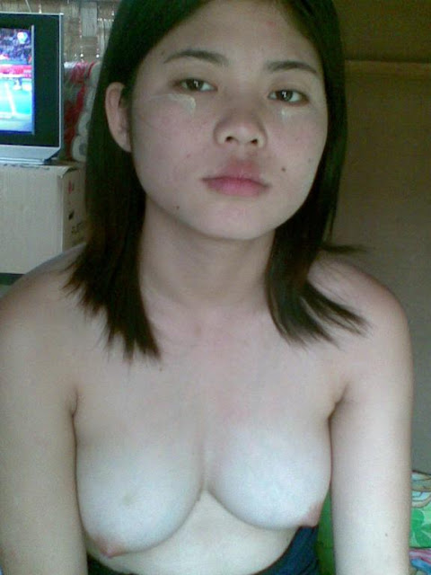 Indonesia indo girl stripping and masturbating for her bf - 3 part 4