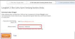 Langkah-langkah daftar google adsense