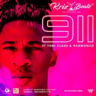KrizBeatz – 911 ft. Yemi Alade & Harmonize [New Song] - mp3made.com.ng
