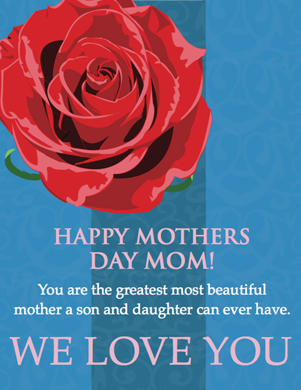We Love You Mom Quotes Gorgeous I Love You Mom' 2017 Mothers Day Images Quotes Wishes Sayings Poems