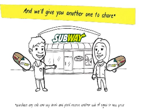 Subway BOGO Buy 1 Get 1 Free Sandwich #NationallSandwichDay
