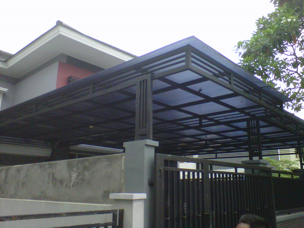 harga kanopi baja ringan atap spandek bahan | minimalis 2018 - tangerang