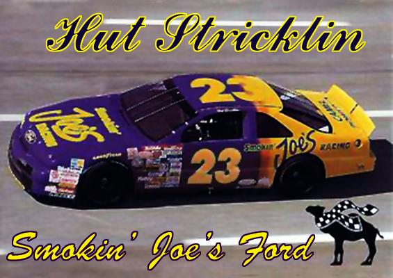 Nascar Racing Champions Blog Hut Stricklin 23 Smokin Joes Ford