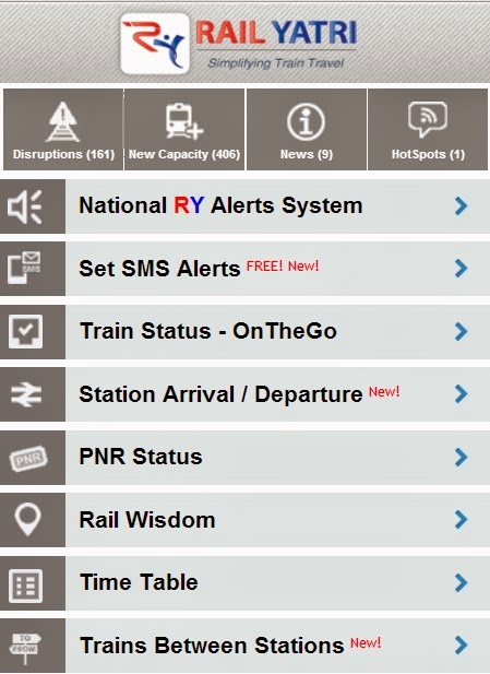 Mobile Train Enquiry Live Train Running Status Live Station