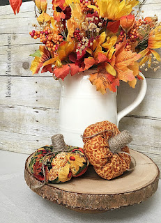 Vintage, Paint and more... Little Fabric Pumpkin Tutorial
