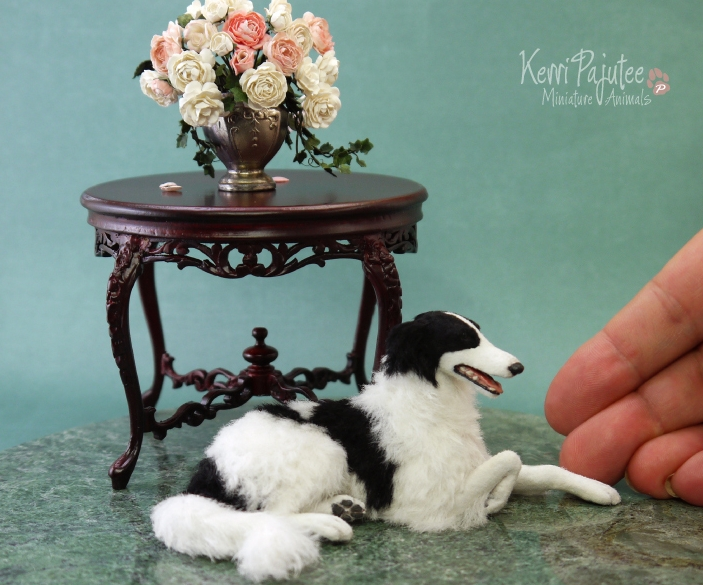 21-Borzoi-Dog-Kerri-Pajutee-Miniature-Sculpture-that-look-Real-www-designstack-co