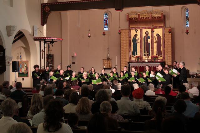 Stairwell Carollers June 3, 2017 Spring concert St. Barnabas, Ottawa