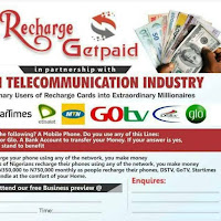 Recharge and get paid | learn how to make up to #100,000 as a member