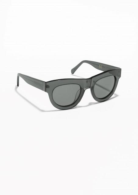 chunky sunglasses, stories black sunglasses,