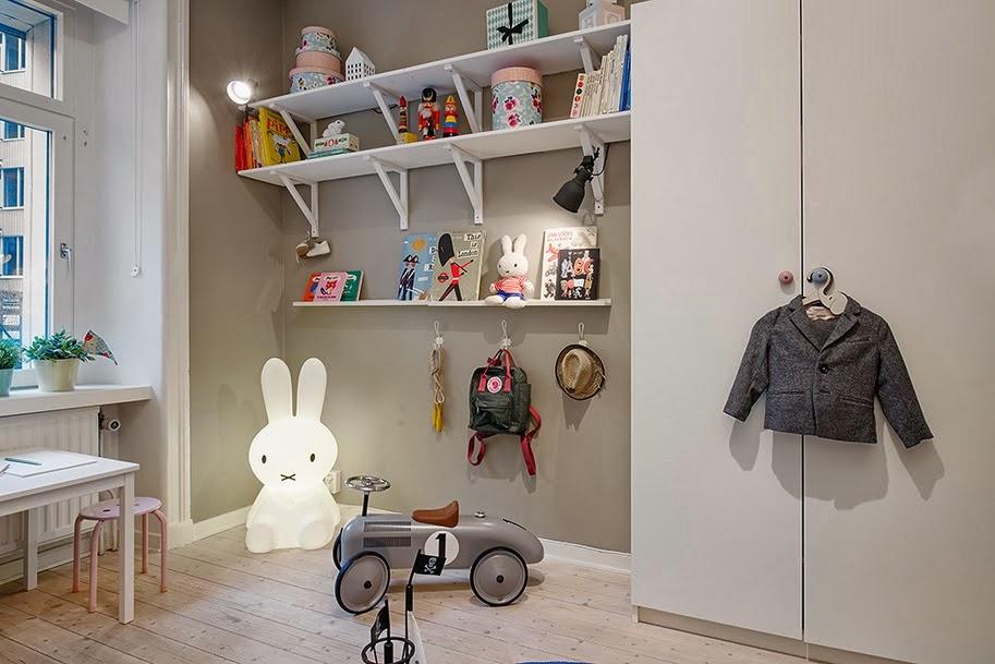 Ideas y almacenaje de un piso de estilo nrdico  Boho