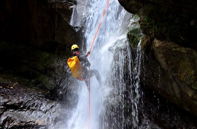 Canyoning στο Δήμο Άργους Μυκηνών - Οι καινοτόμες πρωτοποριακές προτάσεις και δράσεις συνεχίζονται
