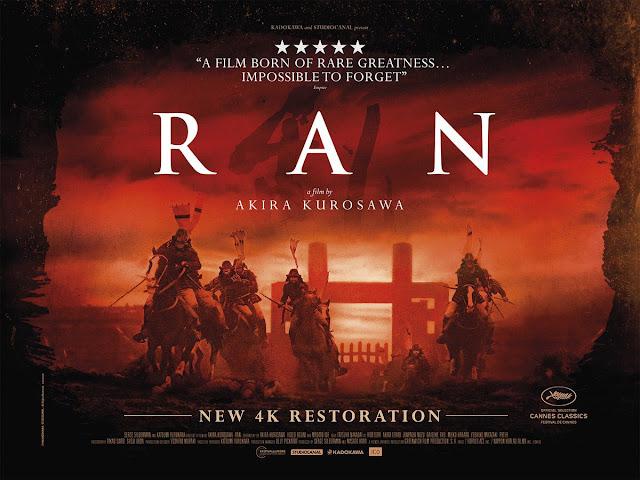 Akira Kurosawa RAN 4K Restoration Poster UK Quad