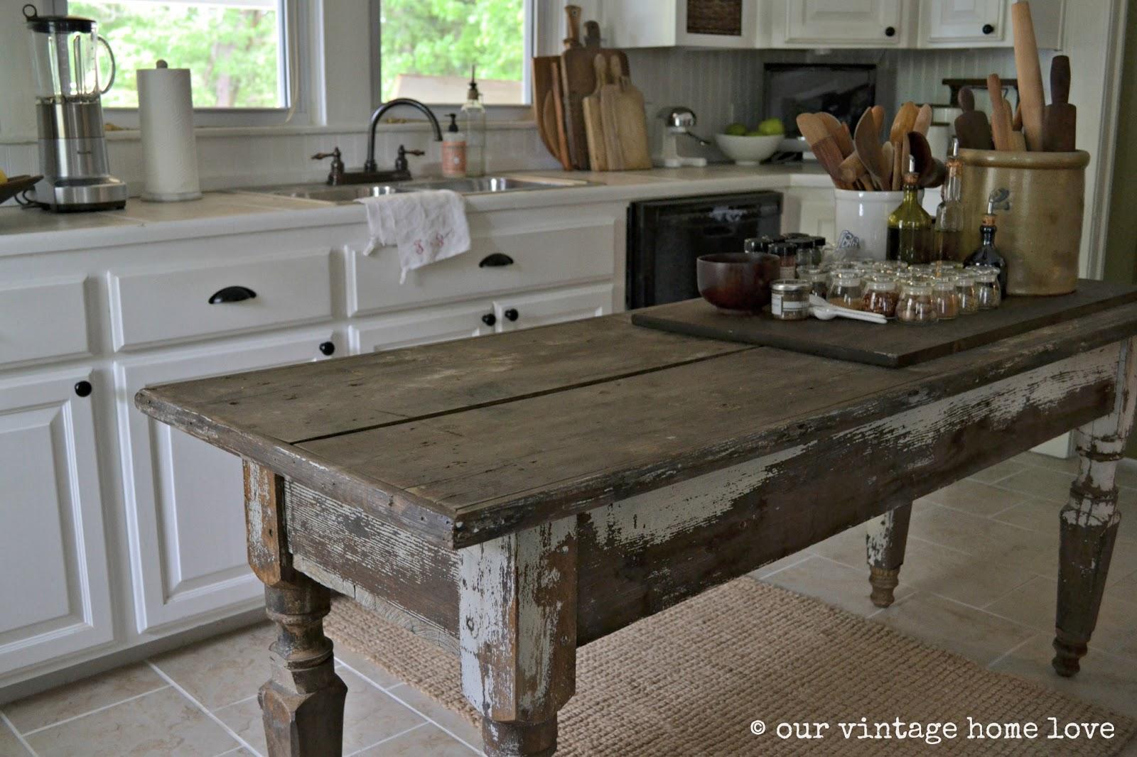 vintage home love: Farmhouse Table