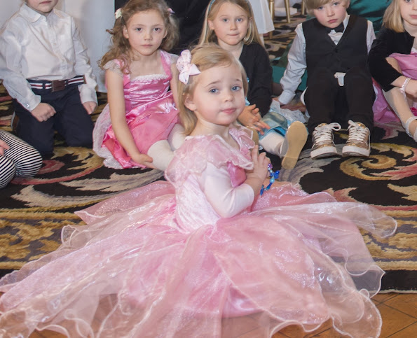 "Real life Princess Leonore accompanied the ""My Big Day"" party which was held at the Royal Palace early this week and was attended by 12 children staying in pediatrics hospitals."