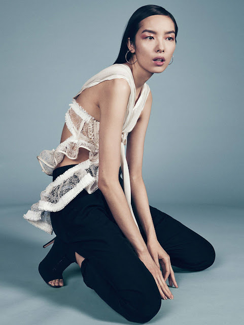 Actress, Model, @ Fei Fei Sun by Sharif Hamza for Vogue China, June 2016